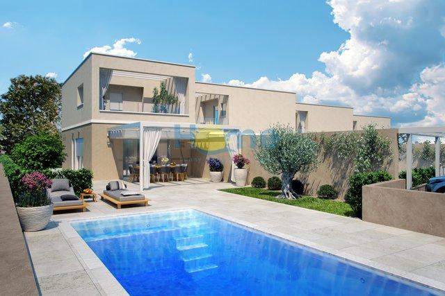 Istra, Umag - okolica, nova dvojna kuća 700 m od plaže