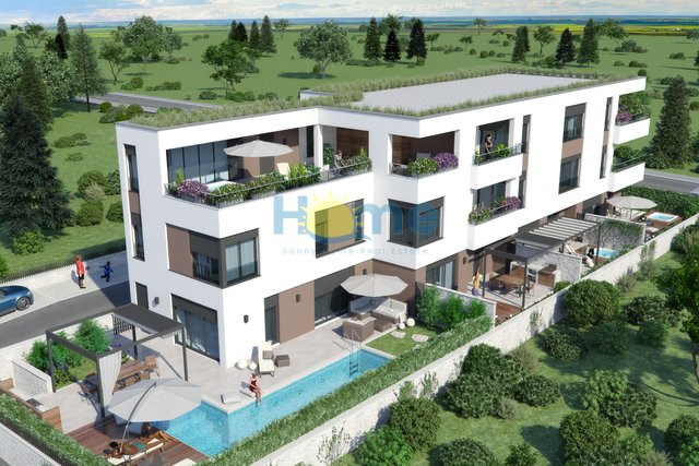 Istra - Novigrad, new luxurious semi-detached house with pool