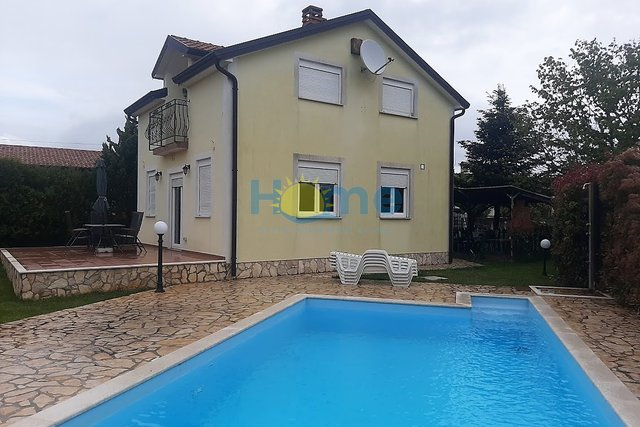 Istra, Tar, freestanding house with pool and seaview