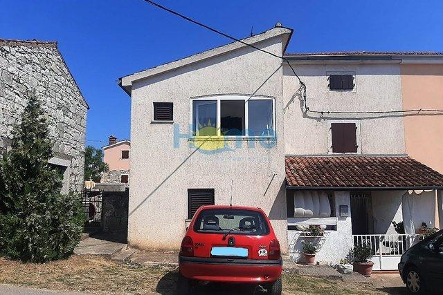 Istra, Poreč - okolica, kamena kuća s pogledom na more