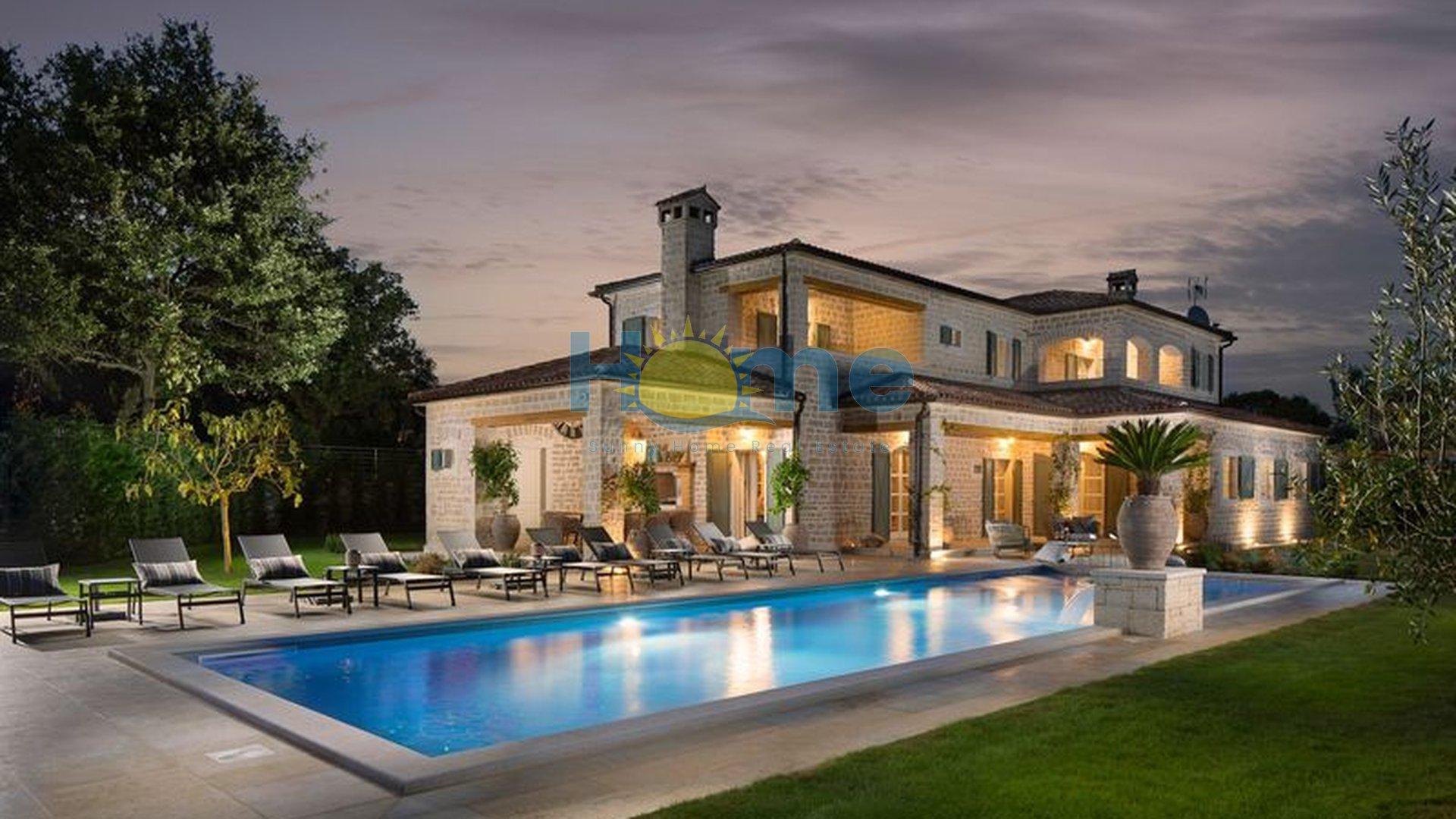 Istra, Kanfanar, luksuzna vila s bogatstvom sadržaja