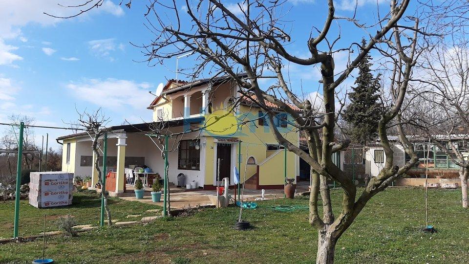 Poreč - okolica, samostojeća kuća s velikom okućnicom 8 km od Poreča