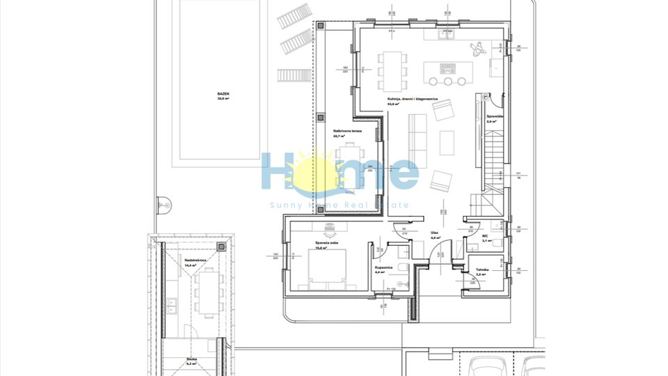 House, 195 m2, For Sale, Kaštelir